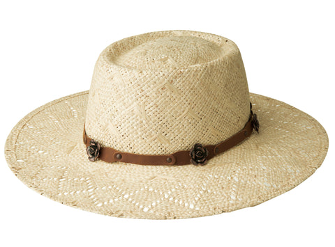 Renegade Honey Natural Womens Straw Western Hat Pork Pie