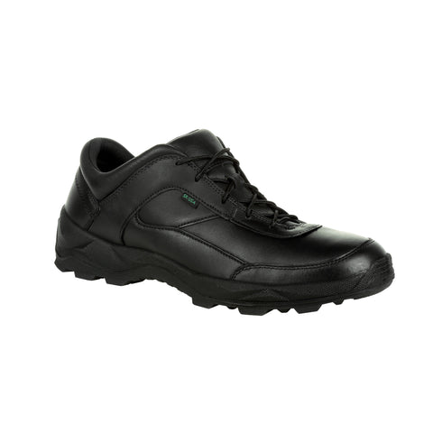 Rocky Mens Black Leather Priority Postal-Approved Work Oxford