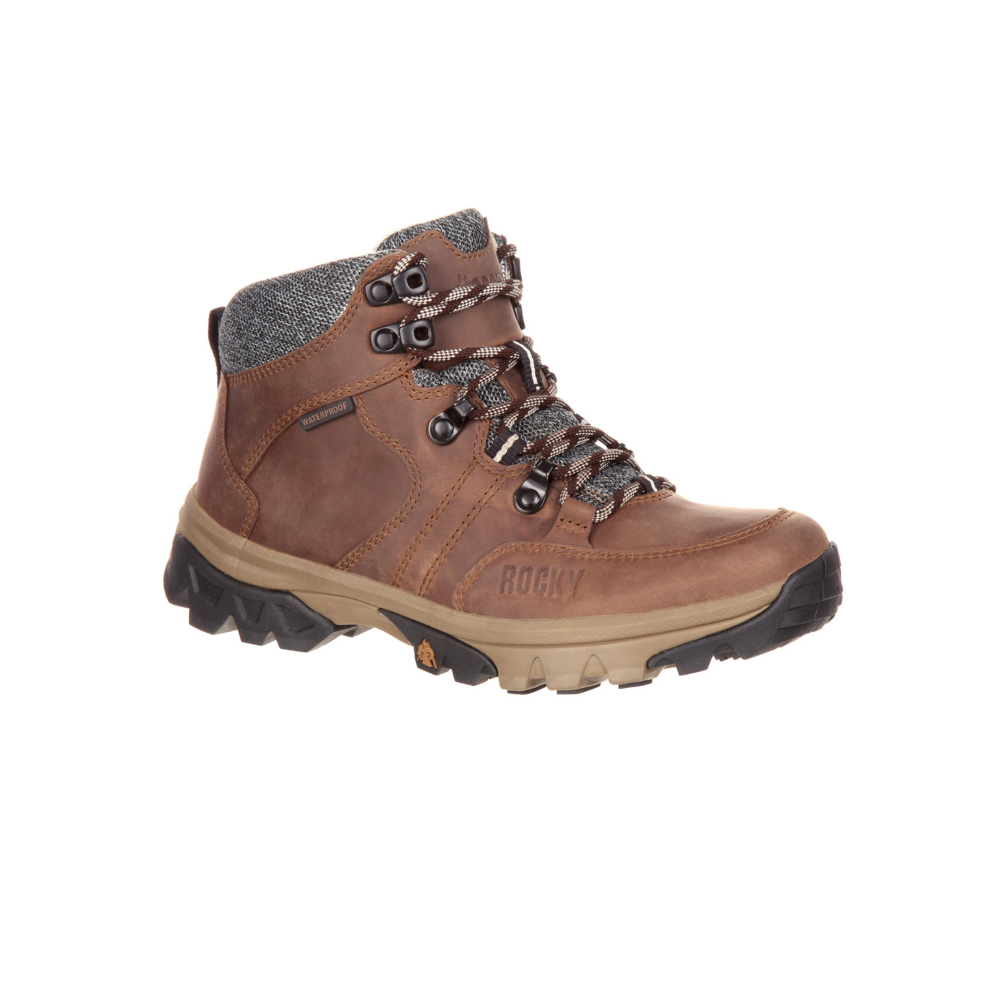 Rocky Womens Brown Leather Endeavour Pt WP Hiking Boots – The ... 53396715a9