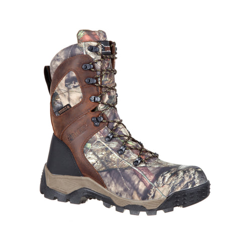 Rocky Mens MOBU Country Leather 1000G Pro WP Hunting Boots