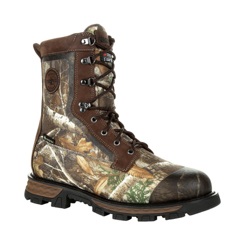 Rocky Mens Realtree Edge Leather Cornstalker GTX 800G Hunting Boots