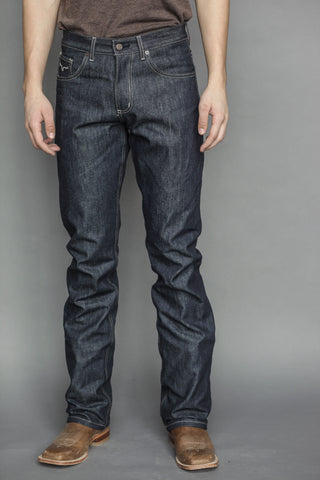 Kimes Ranch Mens Raw James Jeans Blue 100% Cotton