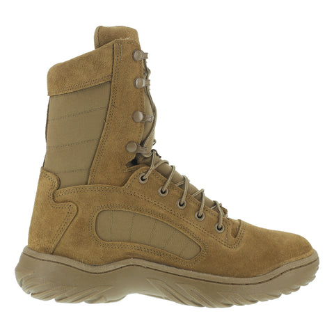 Reebok Mens Coyote Leather Tactical Boots Fusion Max 8in Recon