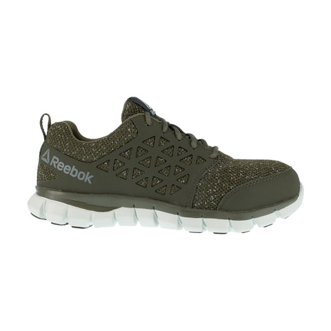 Reebok Womens Olive Green Textile Oxfords Sublite Athletic CT