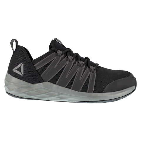 Reebok Mens Black/Grey Mesh Work Shoes Astroride ST
