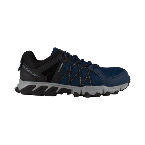 Reebok Mens Navy/Black Textile Work Shoes Trailgrip Athletic CT
