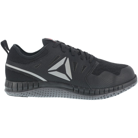 Reebok Womens Black/Dark Grey Mesh Work Shoes Zprint ST