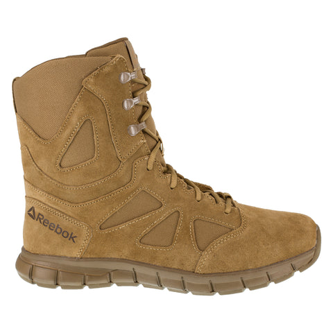 Reebok Mens Coyote Leather Work Boots Sublite Tactical AR670-1 8in