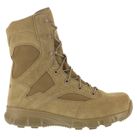 Reebok Mens Coyote Leather Military Boots 8in Tactical Dauntless