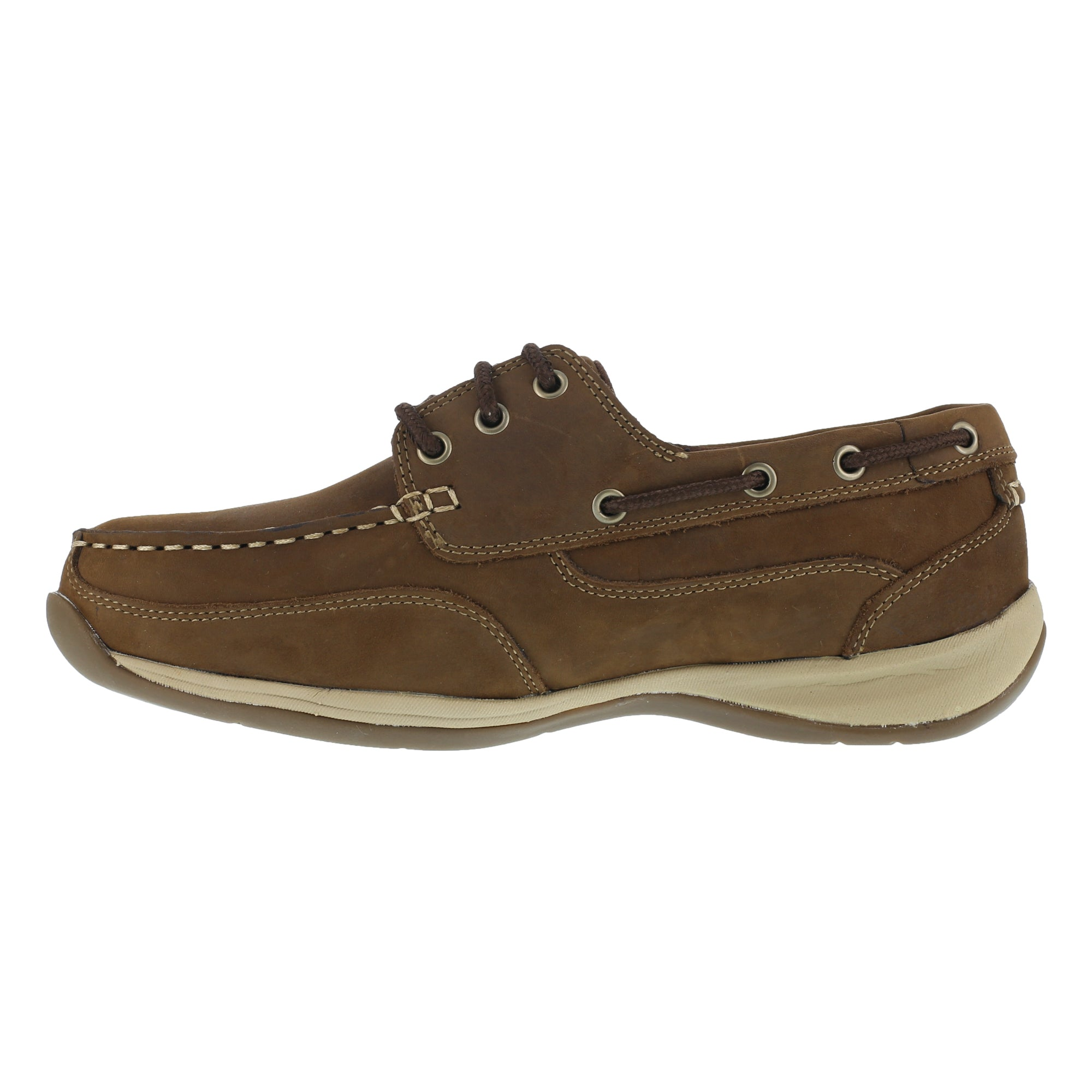 426b22b5929 Rockport Womens Brown Leather Casual Boat Shoes Sailing Club Steel ...