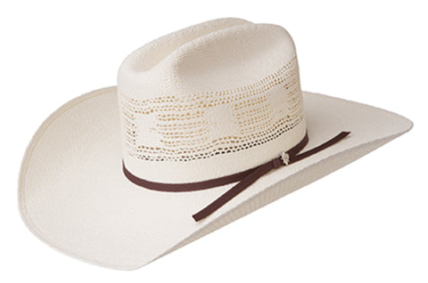 Bailey Ricker Natural Unisex Straw Western Hat Marlboro