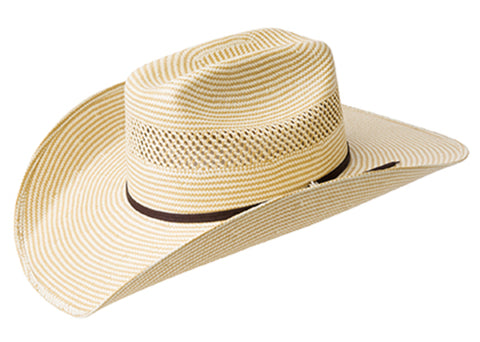 Bailey Cassius Natural/Tan Unisex Straw Western Hat Cheyenne