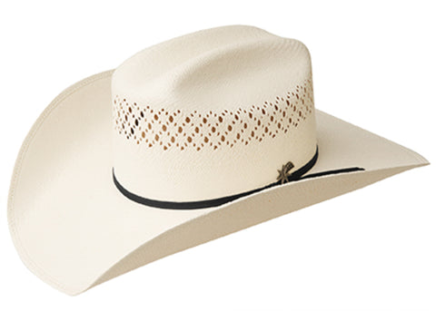Bailey Evers Ivory Unisex Straw Western Hat Rodeo 10X