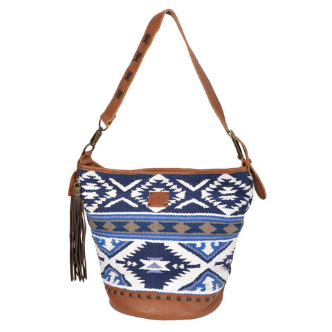 STS Ranchwear Ladies Durango Leather Shopper Serape 9x13.5x3