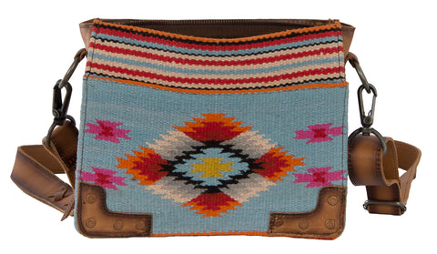 STS Ranchwear Crossbody Ladies Fabric Handbag Saltillo Serape