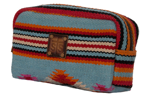 STS Ranchwear Cosmetic Bag Ladies Fabric Saltillo Serape