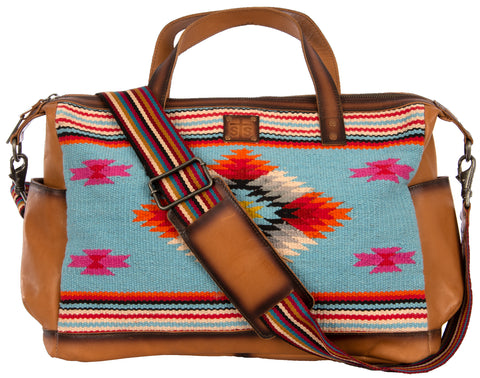 STS Ranchwear Backpack/Diaper Bag Ladies Fabric Saltillo Serape