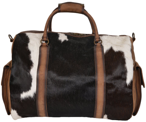 STS Ranchwear Duffle Bag Ladies Leather Travel Cowhide