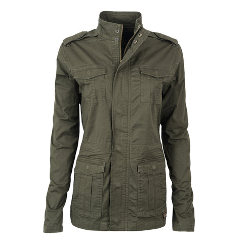 STS Ranchwear Ladies Piper Cotton Jacket Green