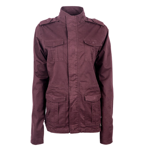 STS Ranchwear Ladies Piper Cotton Jacket Plum
