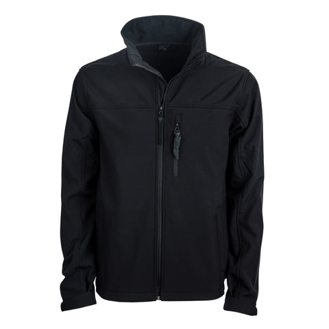 STS Ranchwear Mens Short Go Softshell Jacket Black WR