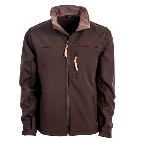 STS Ranchwear Mens Short Go Softshell Jacket Chocolate WR