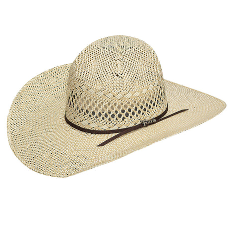 Twister Natural Straw Twisted Weave Hat