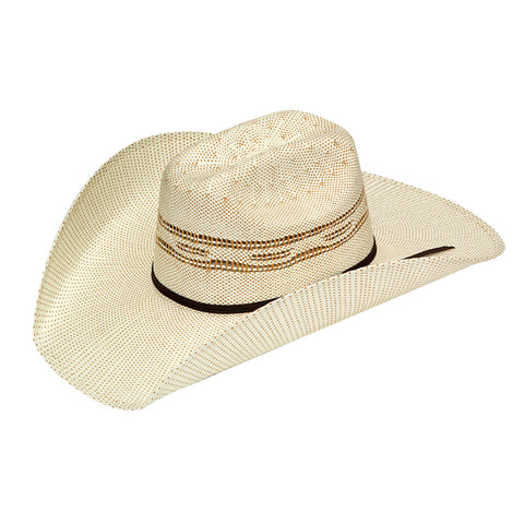 Twister Tan Straw 4.25in Bangora Hat