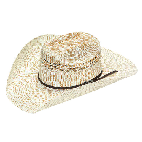 Twister Tan Straw 4.5in Crown Bangora Hat