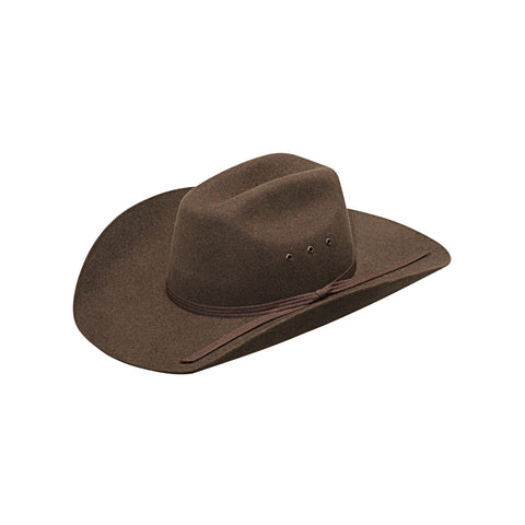 Twister Brown Wool Youth Maverick Felt Hat
