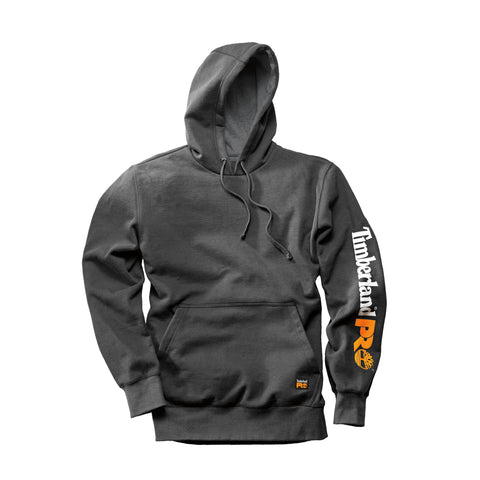 Timberland Pro Hood Honcho Pullover Hoodie Mens Charcoal Cotton Blend