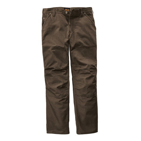 Timberland Pro Overlay Canvas Son-Of-A Pant Mens Dark Brown 100% Cotton