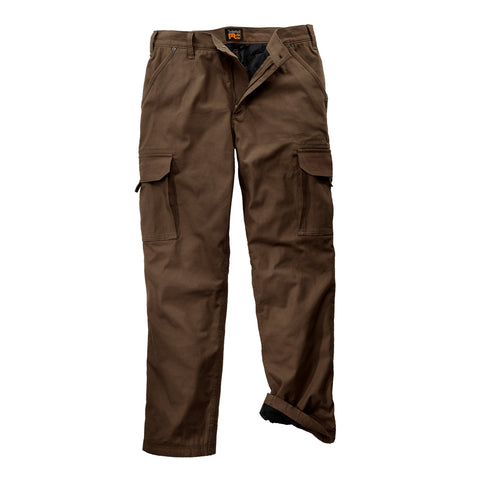 Timberland Pro Gridflex Insulated Canvas Pant Mens Brown Cotton Blend