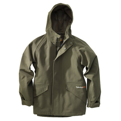Timberland Pro Dry Squall Waterproof Hooded Jacket Mens Grape Leaf Nylon