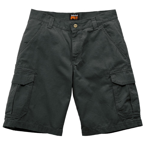 Timberland Pro Warrior Utility Mens Jet Black Cotton Ripstop Work Shorts