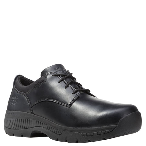 Timberland Pro Valor Soft Toe Mens Black Leather Work Shoes