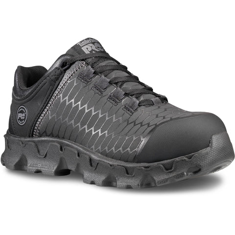 Timberland Pro Powertrain AT SD Womens Black/Grey Leather Work Shoes