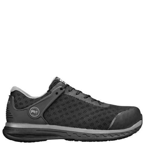 Timberland Pro Drivetrain CT Mens Black Mesh Work Shoes
