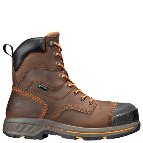 Timberland Pro Helix HD 8in Soft Mens Brown Leather Work Boots
