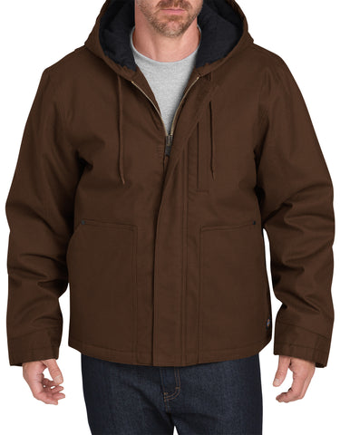 Dickies Mens Timber Brown Flex Sanded Duck Mobility Jacket