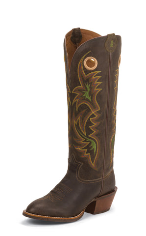Tony Lama Mens Cafe Loco Carrizo Leather 16in Buckaroo Western Boots