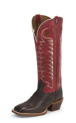 Tony Lama Mens Cafe Bonham Leather 16in Buckaroo Western Boots