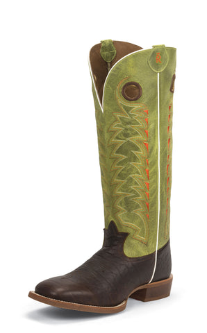 Tony Lama Mens Choco Jasper Leather 16in Buckaroo Western Boots