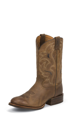 Tony Lama Mens Cafe Loco Leather 11in Stockman Western Boots