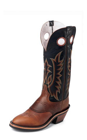 Tony Lama Mens Sunset Renegade Leather Buckaroo USA Western Boots