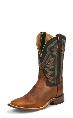 Tony Lama Mens Faded Ranch Tan Americana Leather Rustic Western Boots