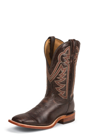 Tony Lama Mens Rust Raven Leather Americana 11in Western Boots