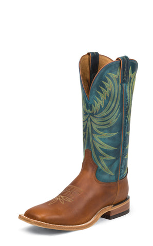 Tony Lama Mens Suntan Rebel Leather Americana 13in Western Boots