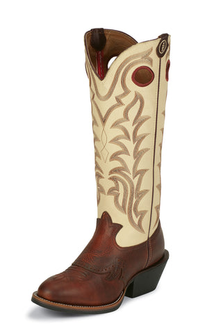 Tony Lama Mens Sienna Maverick Leather 3R 16in Western Boots