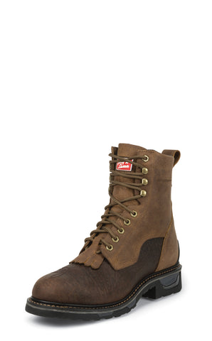 Tony Lama Mens Sierra Badlands Waterproof Leather TLX Work Boots